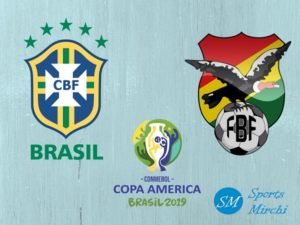 Brazil vs Bolivia 2019 Copa America football match