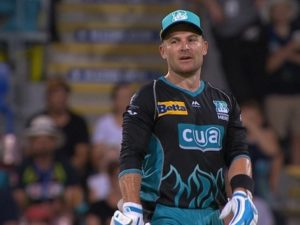 Brendon McCullum play big bash for Brisbane Heat