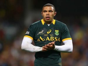 Bryan Habana South Africa Rugby player