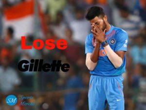 Gillette ends sponsorship with Hardik Pandya