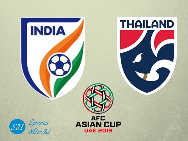 India vs Thailand 2019 Asian Cup football match