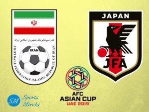 Iran vs Japan 2019 Asian Cup semi-final match
