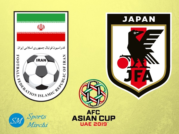 Iran vs Japan 2019 Asian Cup semi-final match
