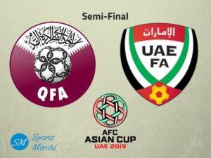 Qatar vs UAE semifinal 2019 Asian Cup