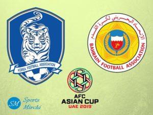 South Korea vs Bahrain 2019 Asian Cup match