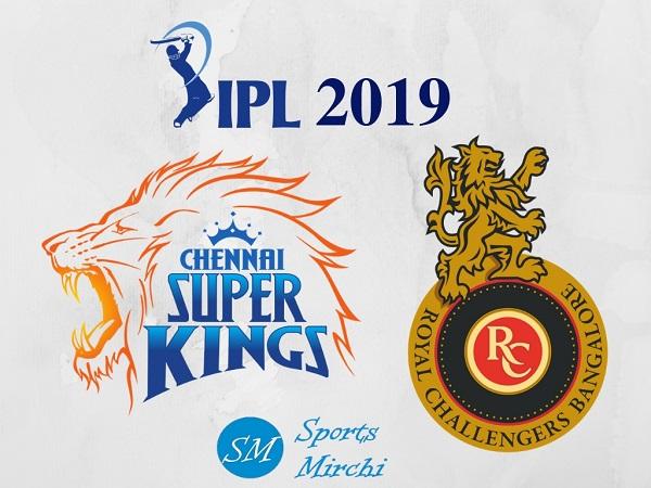 CSK vs RCB 2019 IPL match