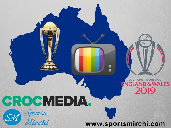 Crocmedia to broadcast live 2019 world cup matches on radio in Australia
