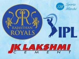 JK Lakshmi Cement title sponsor of Rajasthan Royals in IPL