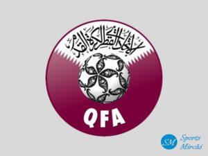 Qatar football team logo