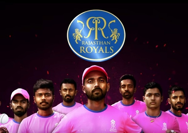 Rajasthan Royals 2019 team in pink color
