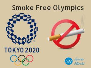 Smoke free Olympics at Tokyo 2020