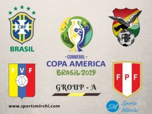 2019 Copa America Group-A Schedule, Teams Preview