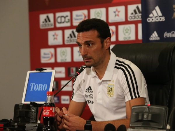 Argentina football team coach Lionel Scaloni