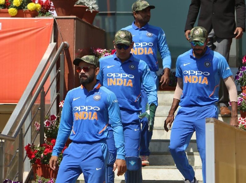 Indian cricket team donates Ranchi match fee for Pulwama martyrs