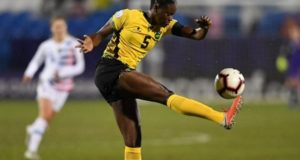 Jamaica women football captain Plummer used to play soccer, cricket with boys