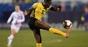Jamaica women football captain Plummer used to play soccer, cricket with boys