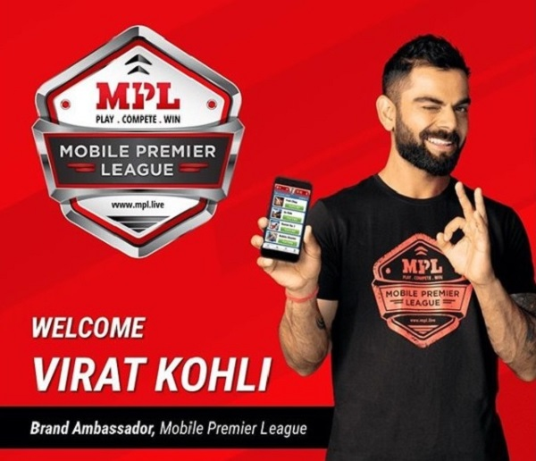 Virat Kohli becomes brand ambassador of Mobile Premier League at 12 crore INR deal