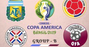 Copa America 2019 Group-B Teams, Schedule, Preview, Predictions