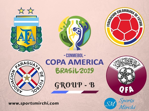 2019 Copa America Group-B team, fixtures, full schedule, preview