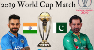 Squads of India vs Pakistan 2019 cricket world cup match