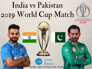 India vs Pakistan 2019 cricket world cup match photo