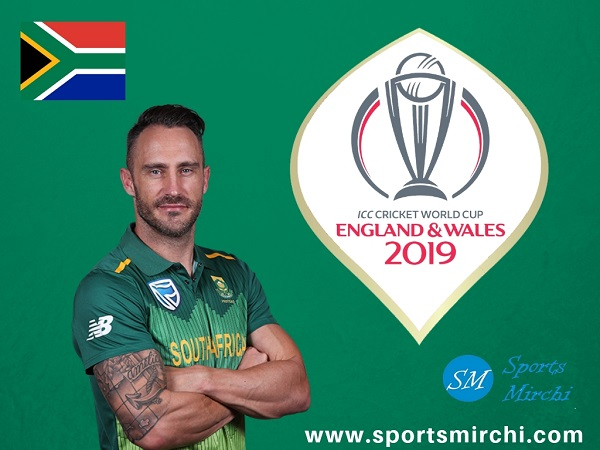 South Africa cricket team at ICC World Cup 2019