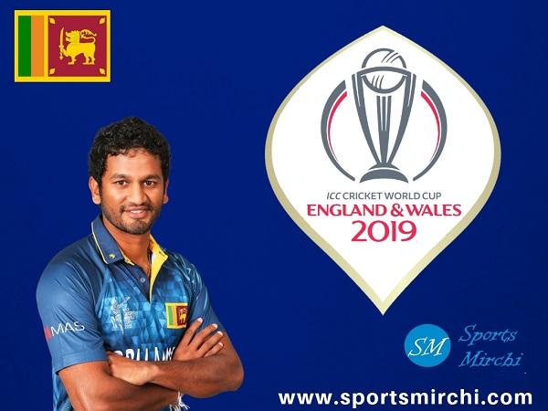 Sri Lanka team at cricket world cup 2019