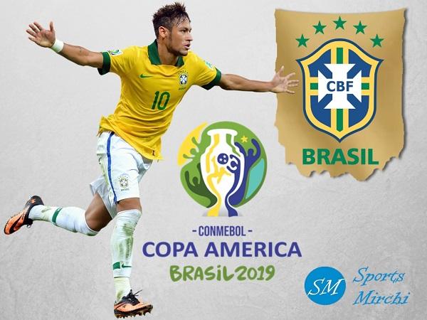 Brazil Squad for Copa America 2019.