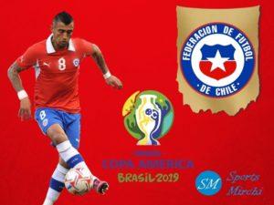 Chile squad for 2019 Copa America in Brazil