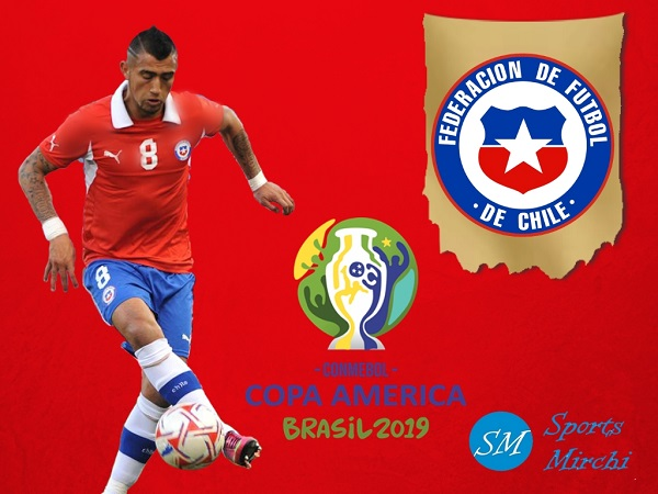 Chile squad for 2019 Copa America in Brazil