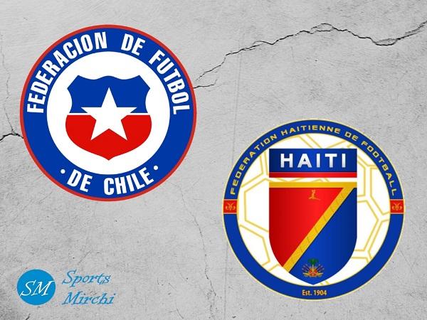 Chile vs Haiti football match photo by sportsmirchi