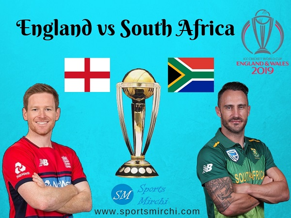 England vs South Africa 2019 cricket world cup match.