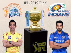 IPL 2019 final Chennai Super Kings vs Mumbai Indians