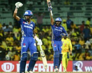 Mumbai Indians won first qualifier to qualify for IPL 2019 final