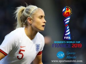 Steph Houghton to captain England squad at FIFA Women's World Cup.
