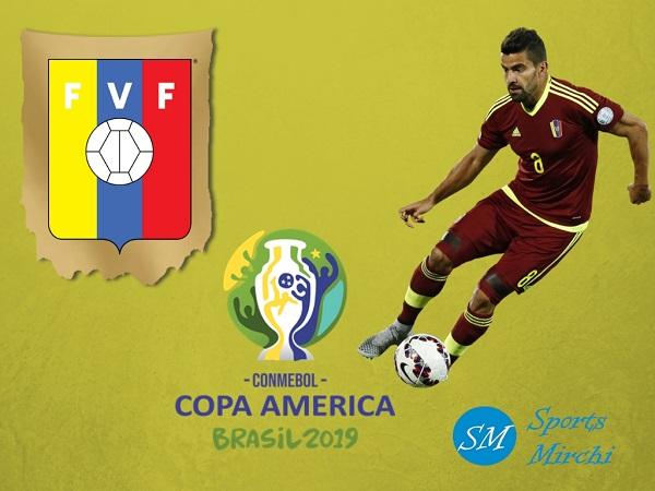 Venezuela 23-man squad for Copa America 2019