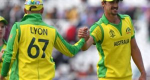 Starc took 5-wickets to help Australia beat West Indies in 2019 world cup league match