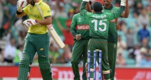 ICC World Cup 2019: Bangladesh Thumped South Africa by 21 runs