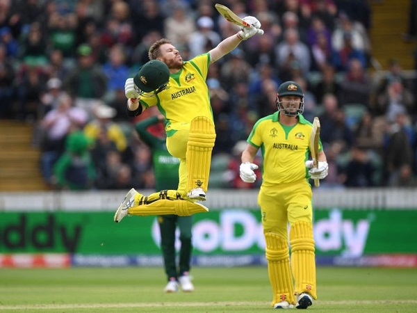 David Warner hit century against Pakistan in 2019 world cup