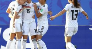 Germany beat Nigeria 3-0 to enter 2019 Women's world cup quarterfinals
