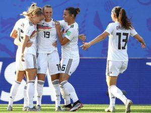 Germany qualify for 2019 FIFA women's world cup quarterfinal by defeating Nigeria