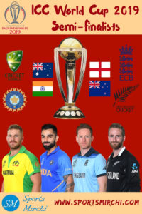 ICC World Cup 2019 Semi-Final Teams