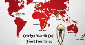 List of Countries hosted ICC Cricket World Cup