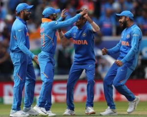 India beat Australia by 36 runs in cricket world cup 2019