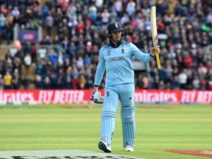 Jason Roy scored 153 against Bangladesh in 2019 world cup.