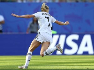 Lea Schuller scored goal for Germany vs Nigeria in Round of 16 at FIFAWWC19
