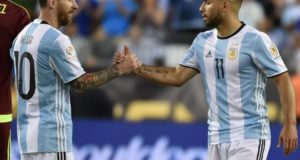 Sergio Aguero wishes to win Copa America for Lionel Messi