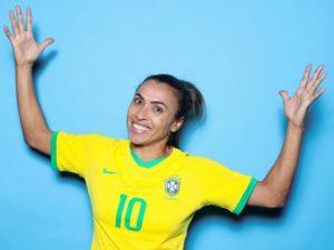 Marta leading goal-scorer at FIFA women's world cup