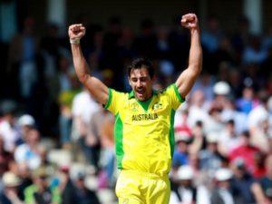 Mitchell Starc took 5-wickets against West Indies