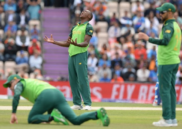 South Africa lost 3rd match of 2019 world cup against India.